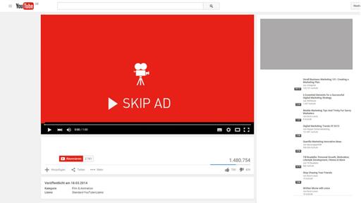 Youtube Yayın İçi Reklamları